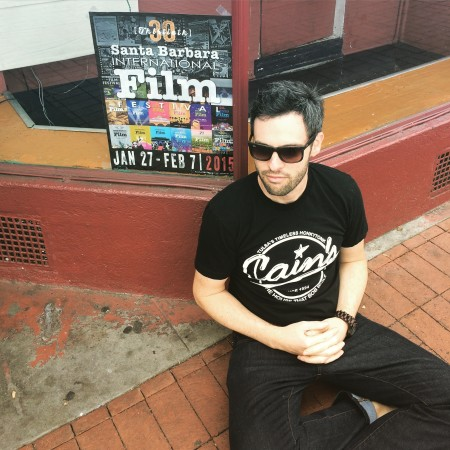 Director Wayne Price takes to the streets of Santa Barbara to promote the film.